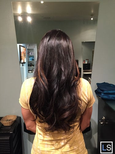 brunette color scottsdale