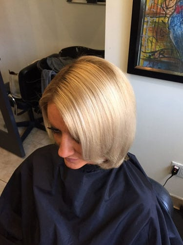 after color correction hair salon Scottsdale