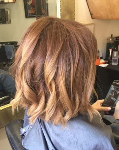 Womens hair cut