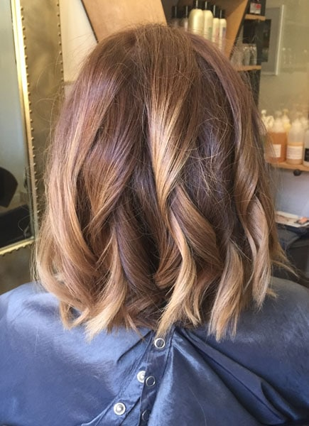 Brown balayage scottsdale