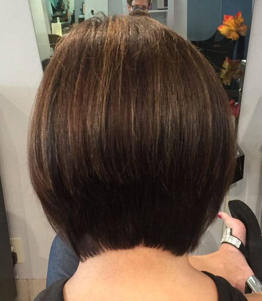 short brunette bob haircut