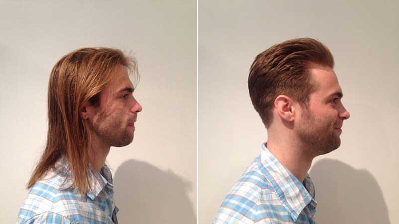 Mens hair long short haircuts scottsdale