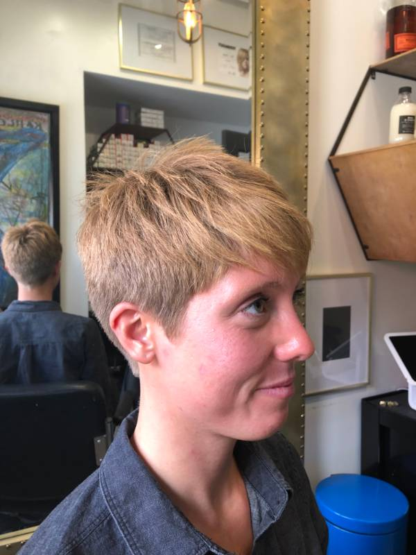 Women's pixie cut Scottsdale