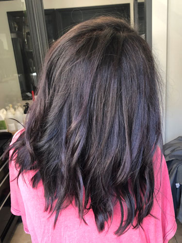 Black hair color scottsdale